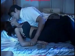 Couple Exotic Hot Indian Kiss