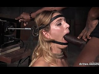 Babe BDSM Black Blonde Big Cock Deepthroat Fuck Horny