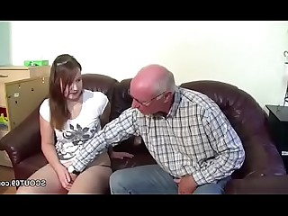 Blowjob Cumshot Double Penetration Granny Hot Old and Young Teen