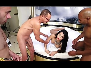 Ass Gang Bang Ladyboy Orgy